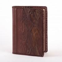 Ежедневник (блокнот), обложка из натуральной кожи