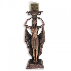 Подсвечник египитская девушка