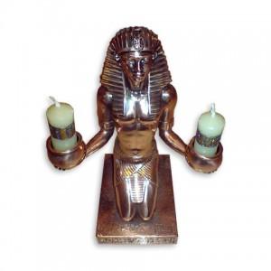 Подсвечник в виде фараона