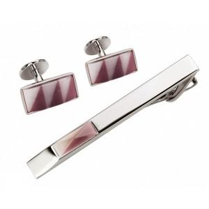 Запонки и зажим для галстука (набор, мужские) S.Quire, модель EG-16467