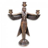 Статуэтка подсвечник богиня Маат
