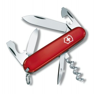 Швейцарский нож Victorinox Swiss Armi Tourist 0.3603 красный