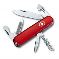 0.3802 Нож Victorinox Swiss Armi Sportsman красный