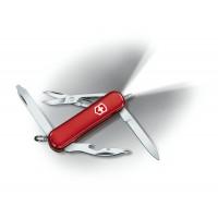 0.6366 Нож Victorinox Midnite Manager с ручкой, красный