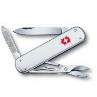 Складной ножик Victorinox Money Clip 0.6540.16 с зажимом для денег, серебристый