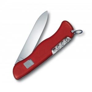 Раскладной нож Victorinox Alpineer 0.8823 с предохранителем, красный