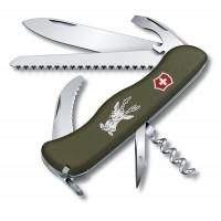 Швейцарский охотничий нож Victorinox Hunter  0.8873.4 оливковый