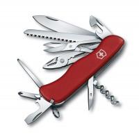 Раскладной швейцарский нож Victorinox Hercules 0.9043 красный