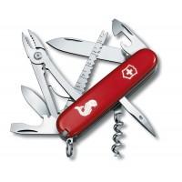 Нож для рыбаков Victorinox Swiss Army Angler 1.3653.72 красный
