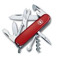 Нож для походов Victorinox Swiss Army Climber 1.3703 красный