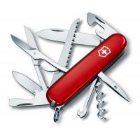 Швейцарский складной нож Victorinox Swiss Army Huntsman 1.3713 красный