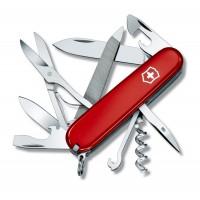 Швейцарский нож для альпинистов Victorinox Swiss Army Mountaineer 1.3743  красный