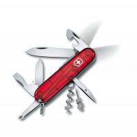 Швейцарский нож с фонариком Victorinox Swiss Army SPARTAN Lite 1.7804.T  красный